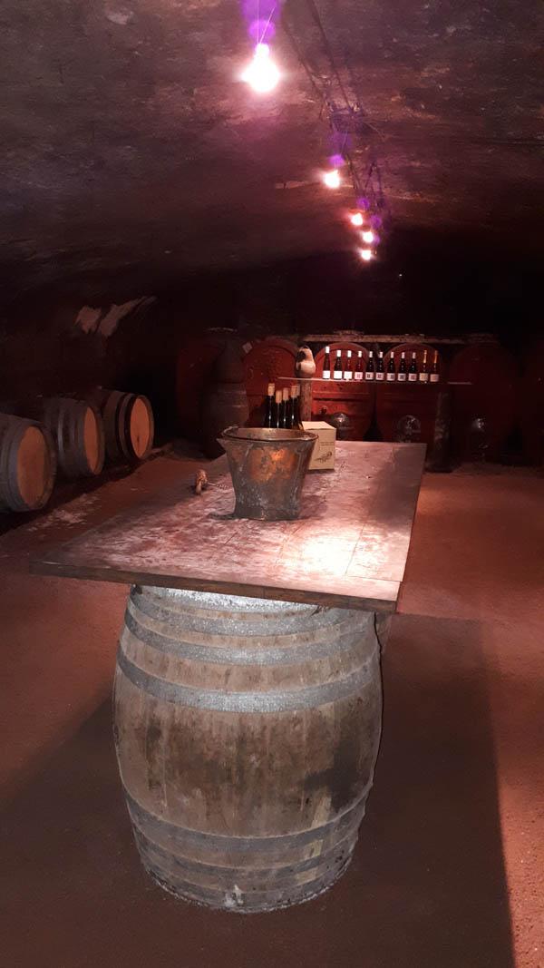 cave domaine des palais degustation