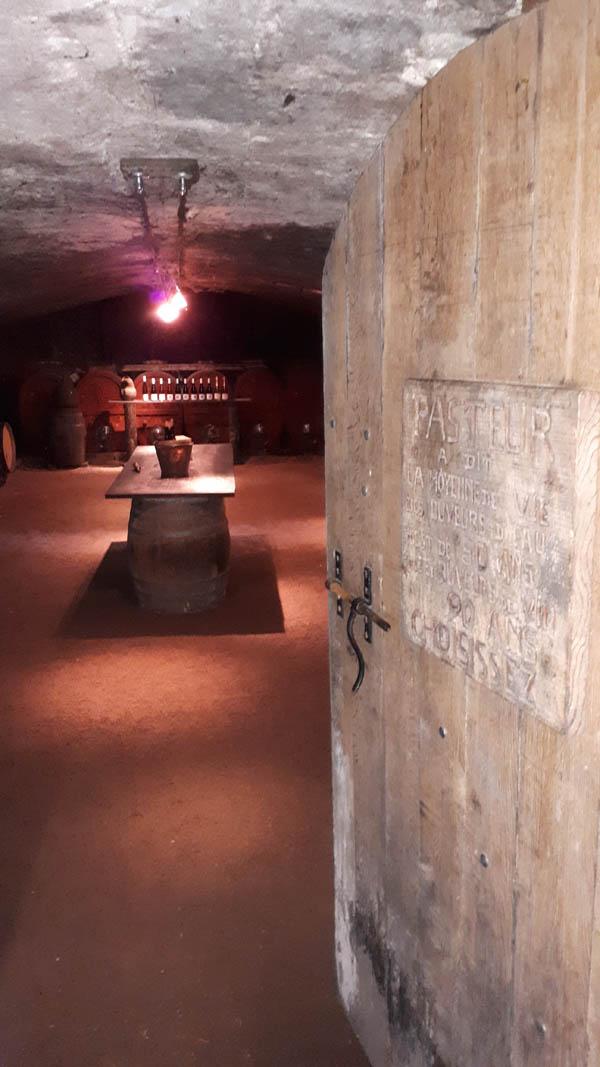 vue cave domaine des palais